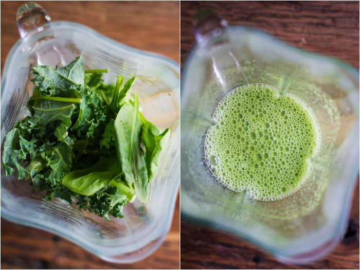 Meal Replacement Blueberry Green Smoothie=- this recipe makes for the perfect on the go breakfast or lunch. It's healthy and easy to throw together!! | bbritnell.com