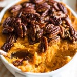 Lightened Up Sweet Potato Casserole