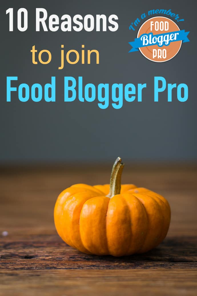 join food blogger pro