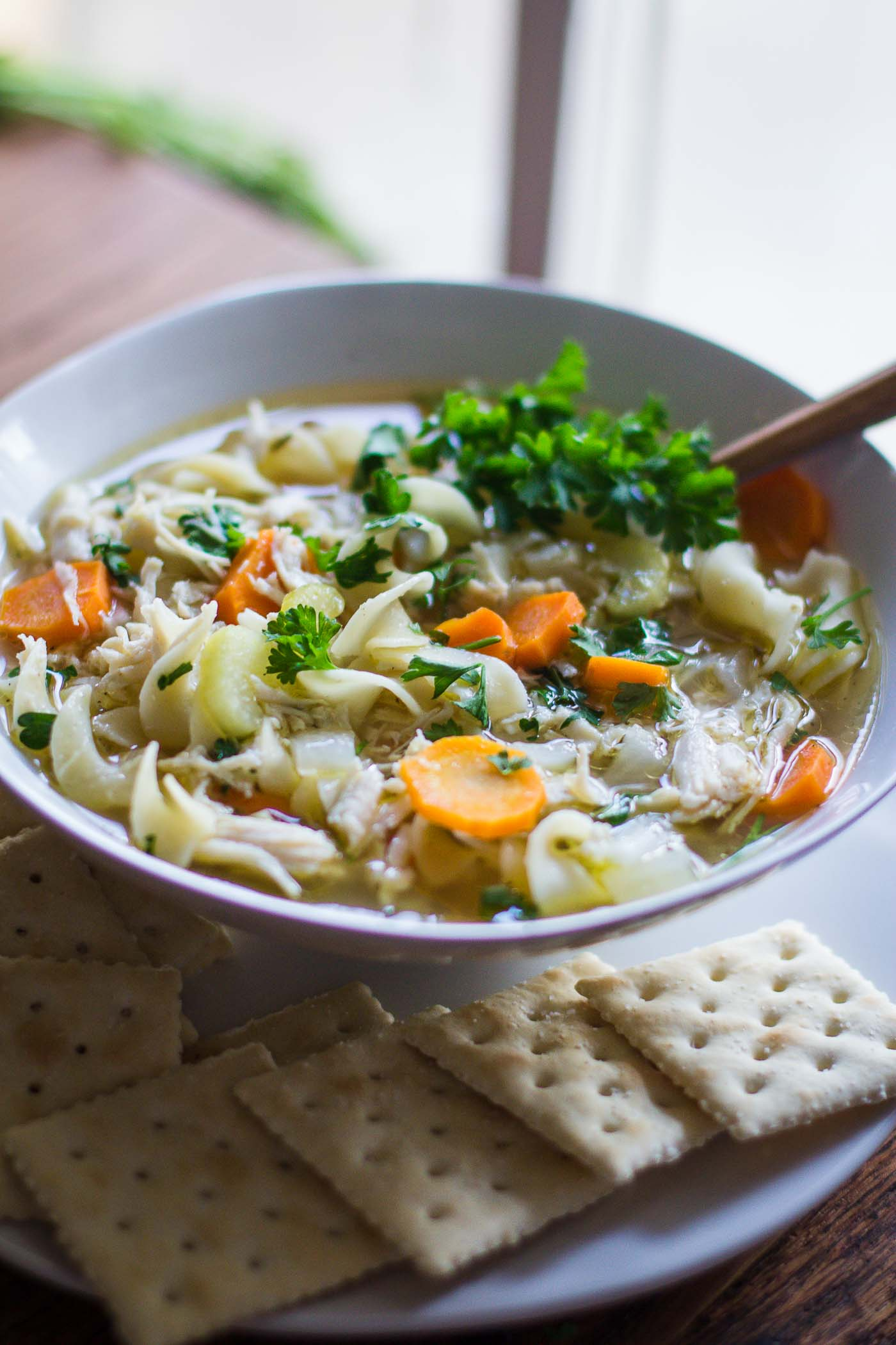 how to make easy chicken noodle soup