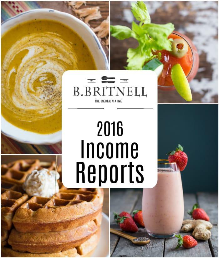 2016 Income Reports