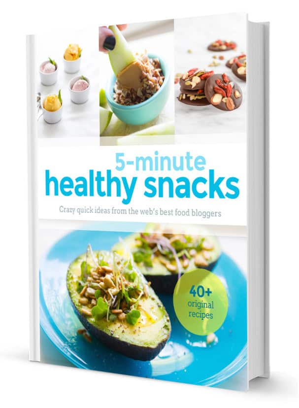 Coterie Cookbook- 5 minute Healthy Snacks