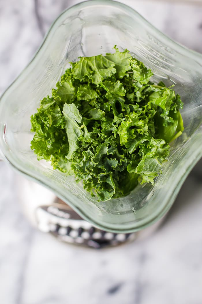 Frozen Greens for Green Smoothies- A step-by-step guide to freezing greens so they don't go bad
