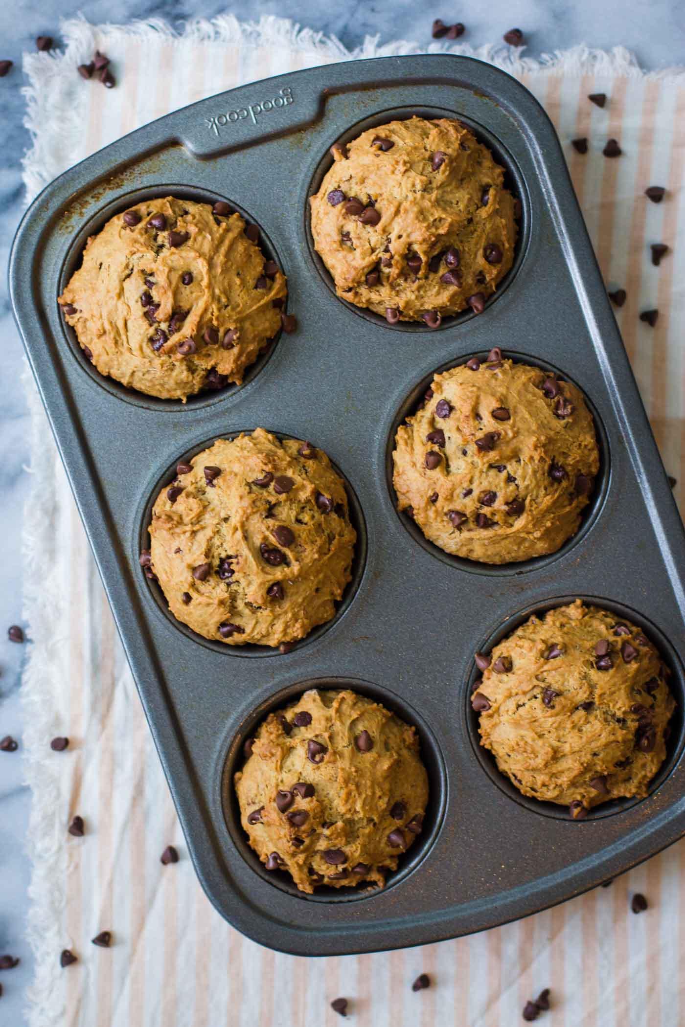 Vegan banana muffin recipe applesauce
