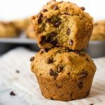 Chocolate Chip Vegan Muffins