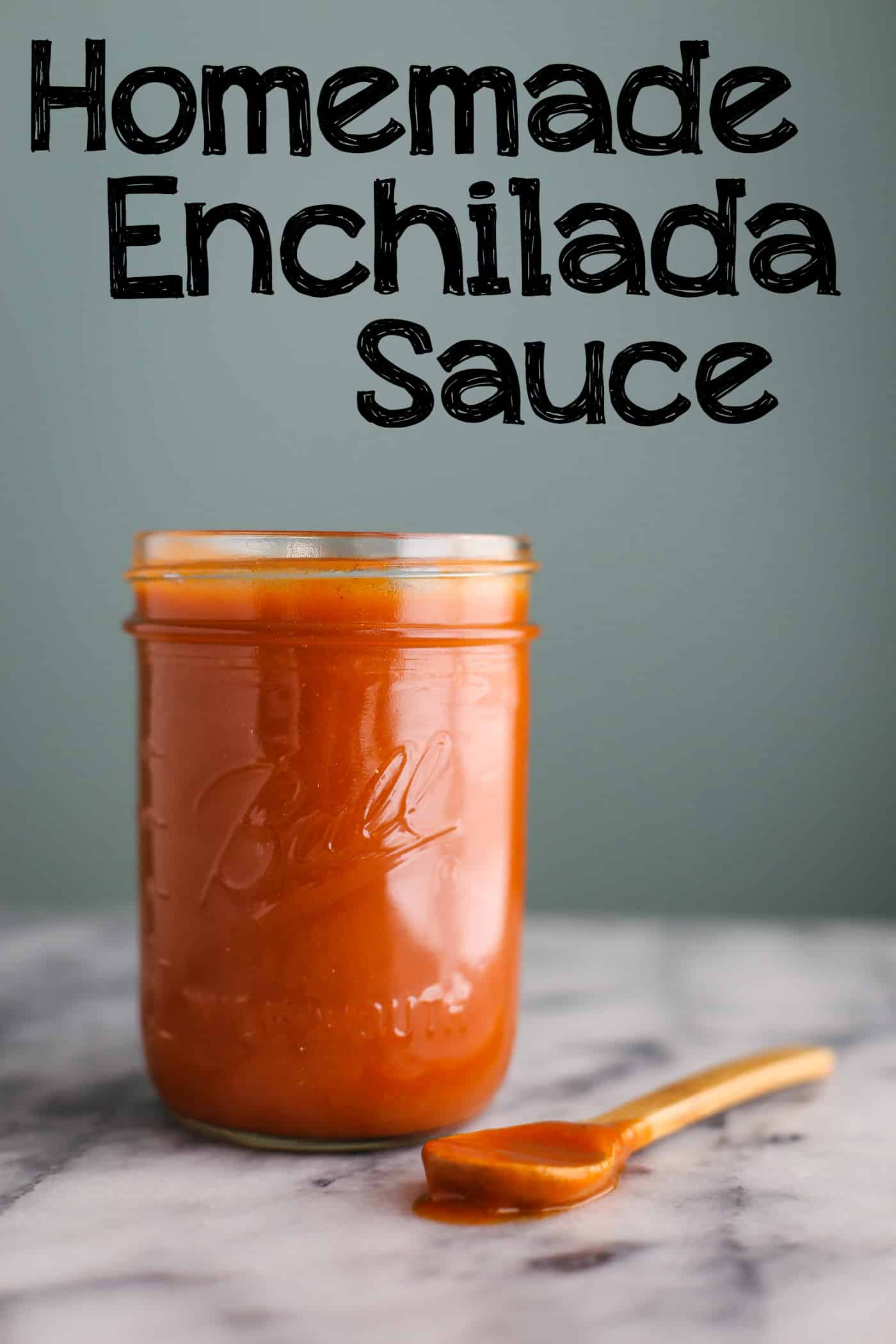 Homemade Enchilada Sauce words