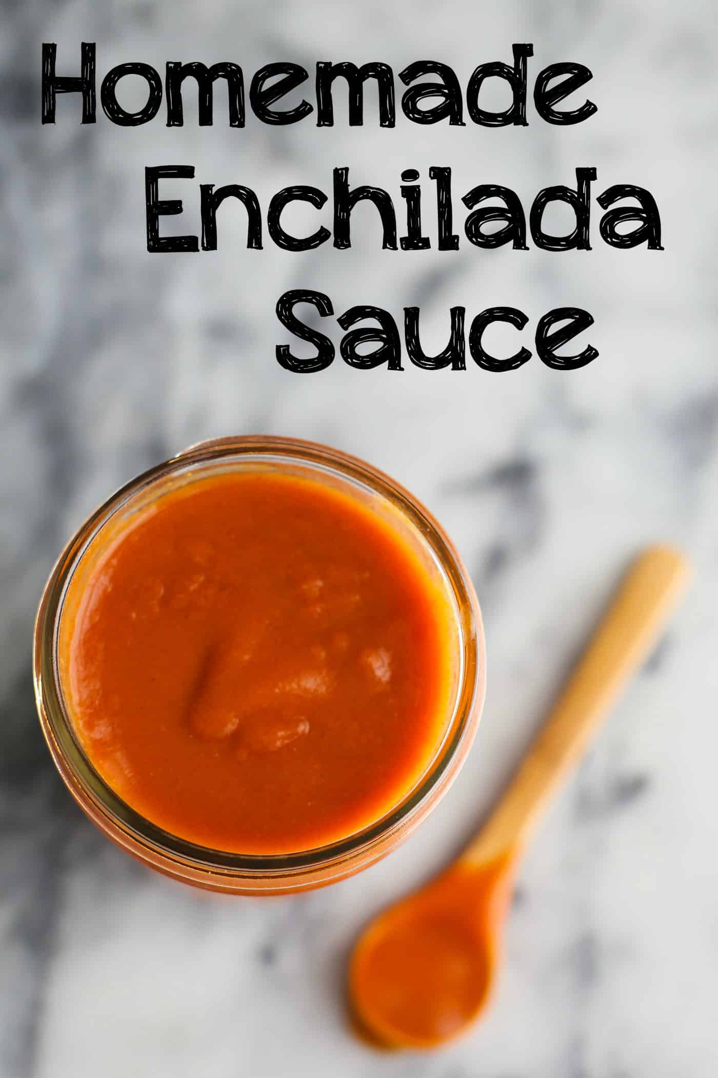 Homemade Enchilada Sauce words2
