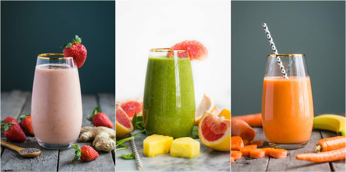 Healthy Smoothie Roun Up from BBritnell.com