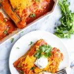 Veggie Vegan Enchiladas