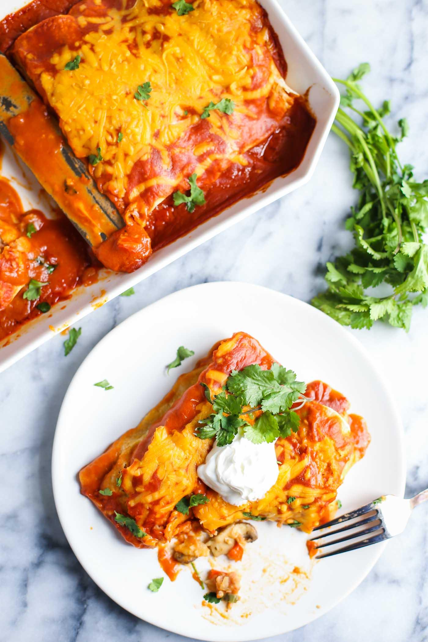 vegan enchiladas-11