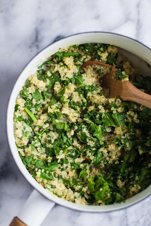 quinoa kale patties-2