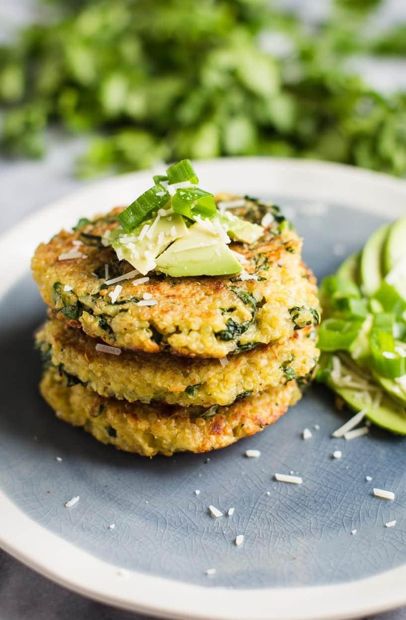 quinoa kale patties-6