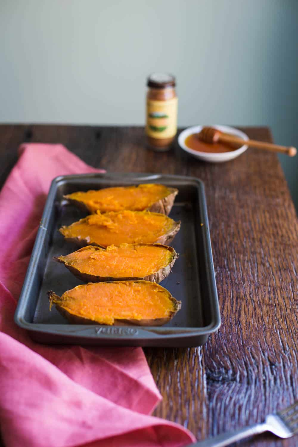 Breakfast Baked Sweet Potato recipe- why don't more people eat sweet potatoes for breakfast!!? | BBritnell.com