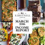 Traffic & Income Report: March 2016
