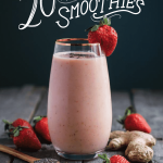 Official Release of my Ebook!! + Strawberry Cinnamon Smoothie