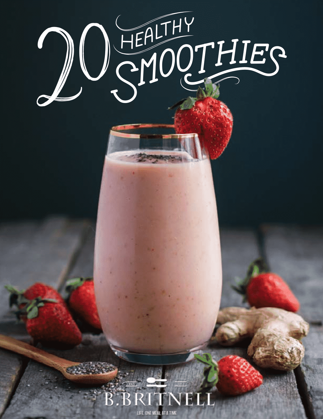 Official release of my ebook strawberry cinnamon smoothie food my ebook is finally here fandeluxe Images