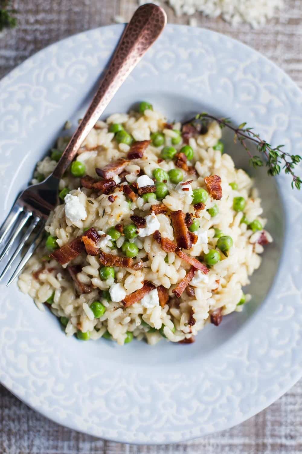 goat cheese risotto-1