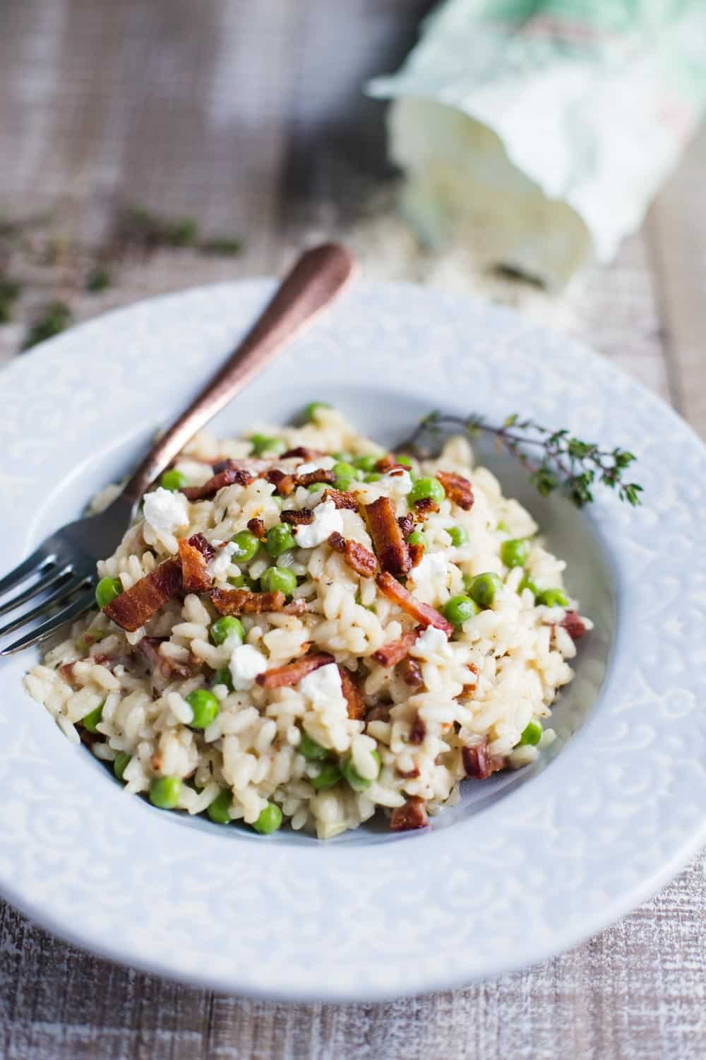 goat cheese risotto-7