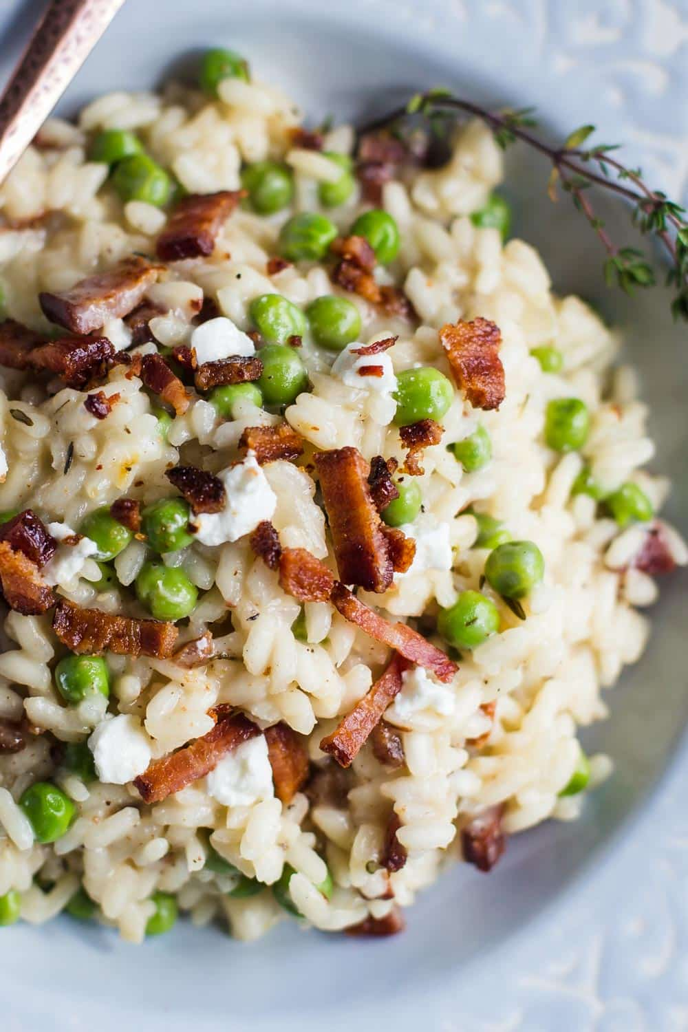 goat cheese risotto-8