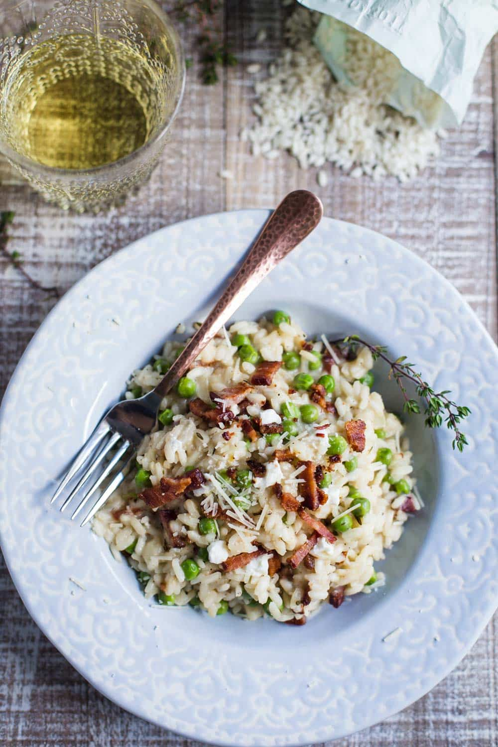 goat cheese risotto-9