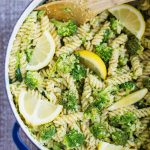 Vegan Lemon Broccoli Pasta Salad