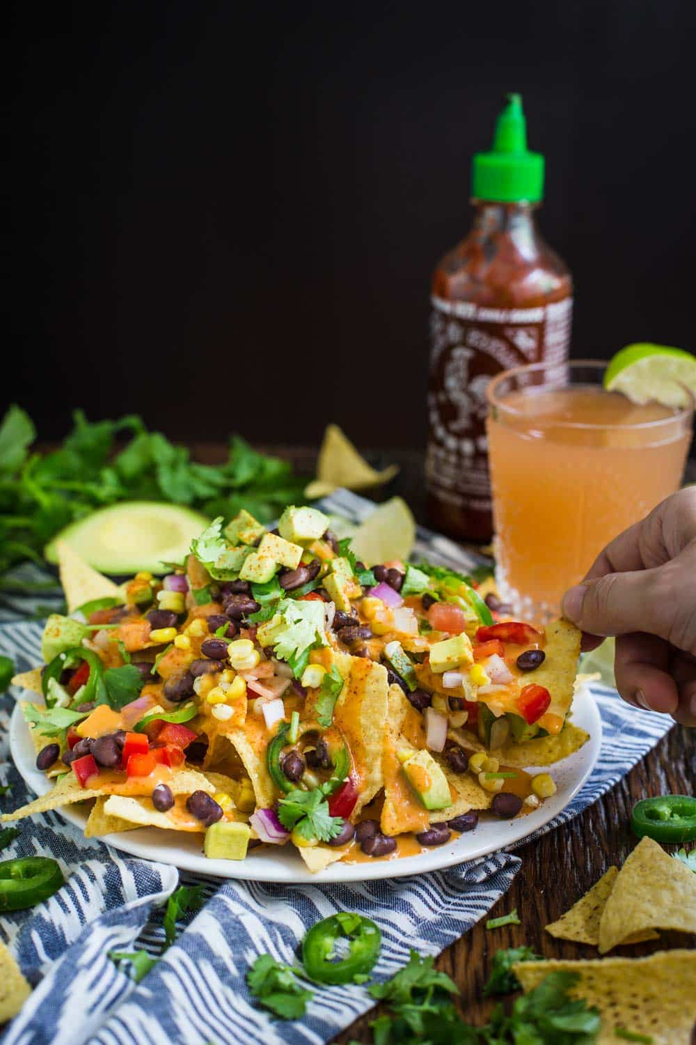 LOADED Vegan Nachos