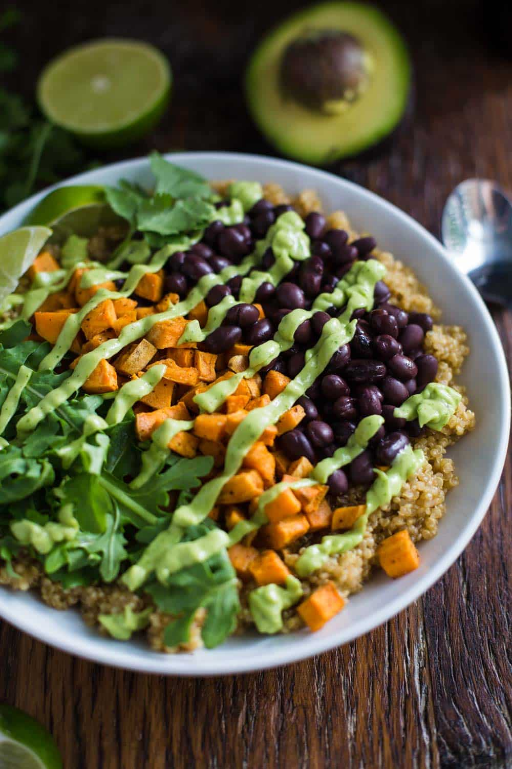 Southwestern Inspired Quinoa Bowl- this dish is fully VEGAN and completely delicious!!!