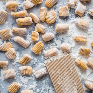 3 Ingredient Sweet Potato Gnocchi