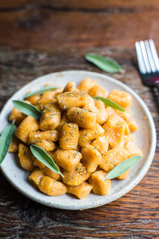 3 Ingredient Sweet Potato Gnocchi Food With Feeling