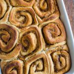 Lavender Cinnamon Rolls