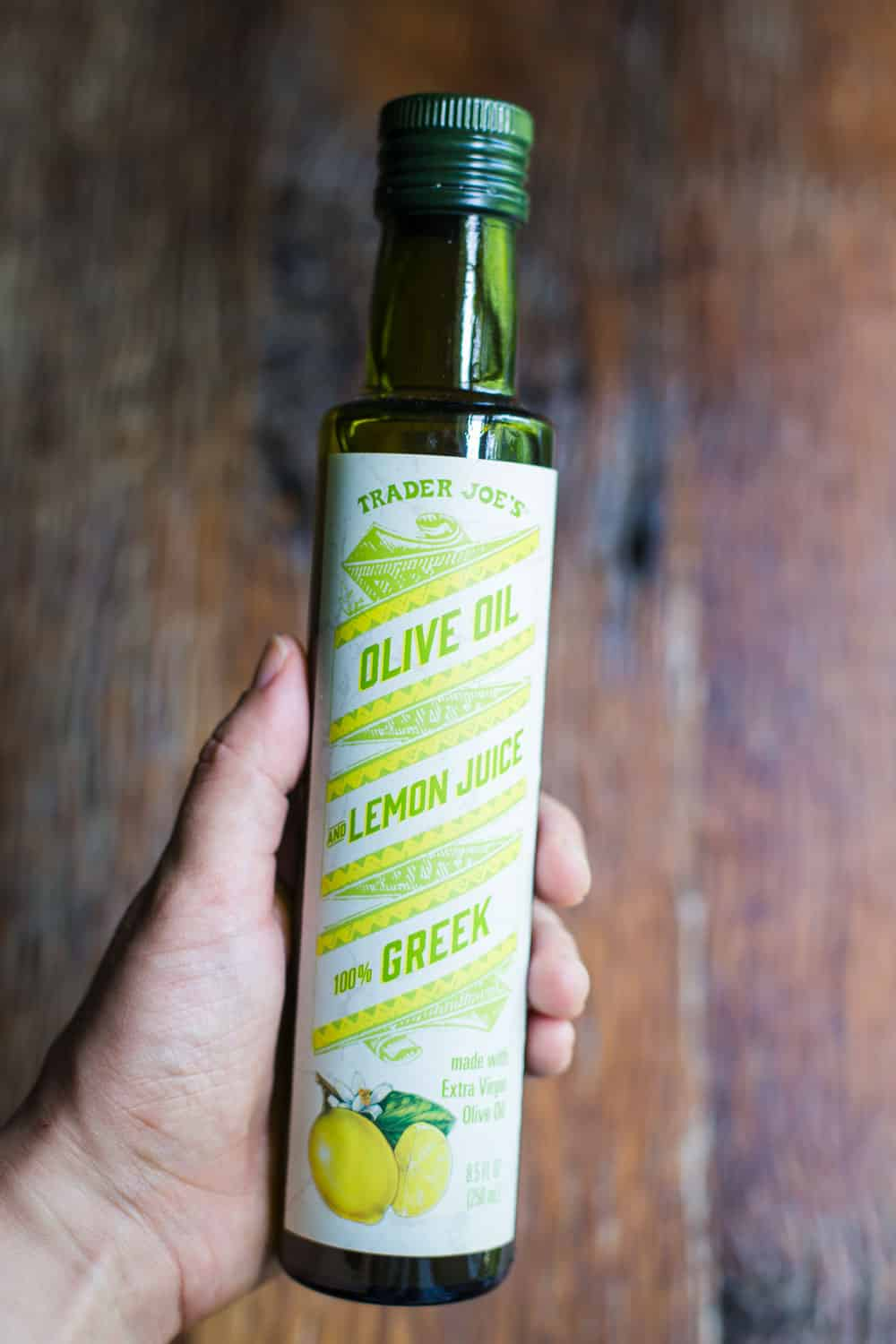 Trader Joe's Lemon Juice Olive Oil