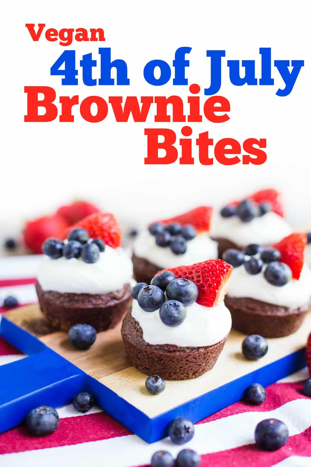 4th Of July Brownies Food With Feeling
