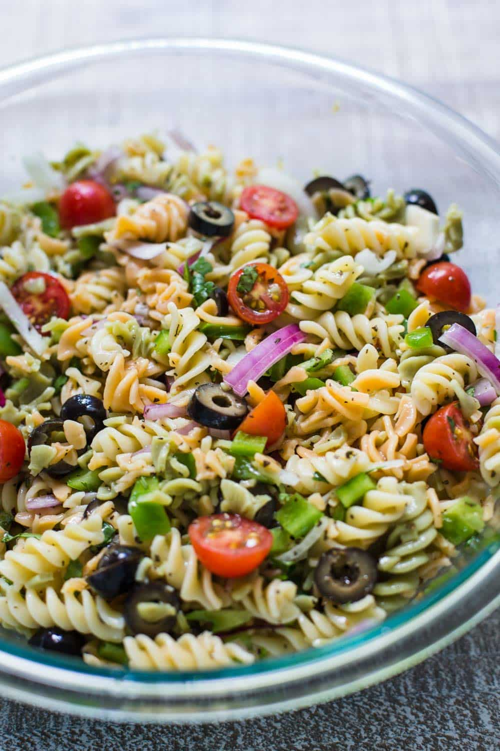 Easy Cold Pasta Salad Recipes Perfect Caesar Pasta Salad