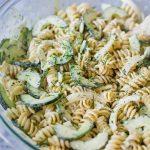 Cucumber Vegan Pasta Salad