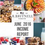 Traffic & Income Report: June 2016