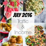 Traffic & Income Report: July 2016
