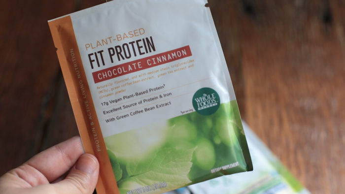 Reviewing Plant Based Protein Powder- Whole Foods Fit Protein