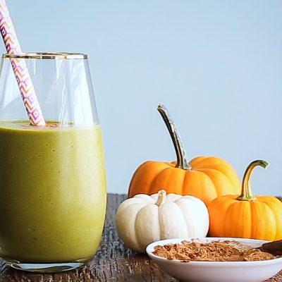Pumpkin Spice Green Smoothie