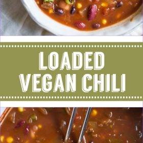 Carregado Vegan Chili |  Comida com sentimento 2