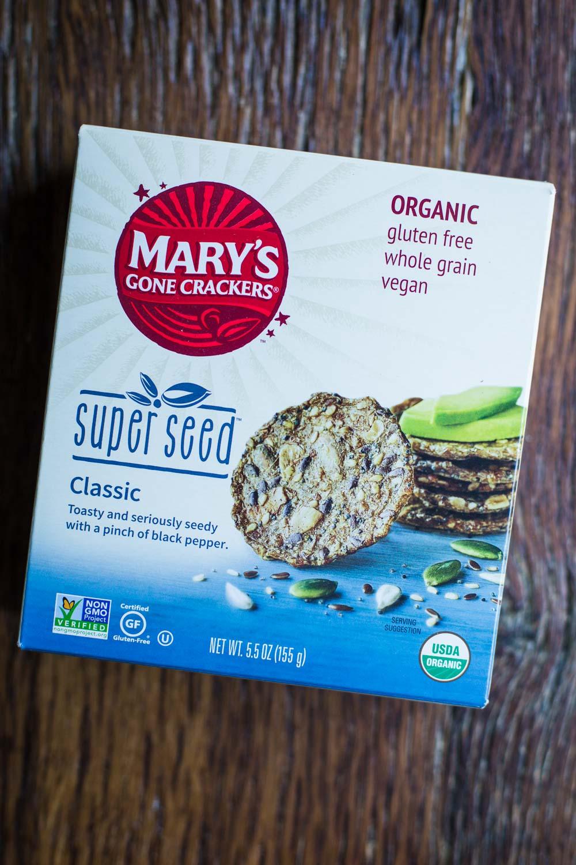 Mary's Gone Crackers herb flavor- September Favorites!