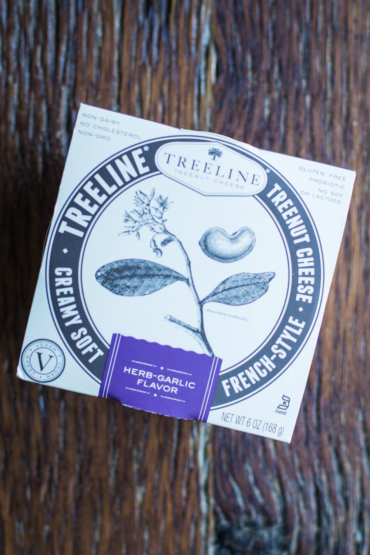 Treeline VEGAN Treenut Cheese. Tastys just like goat cheese- September Favorites!