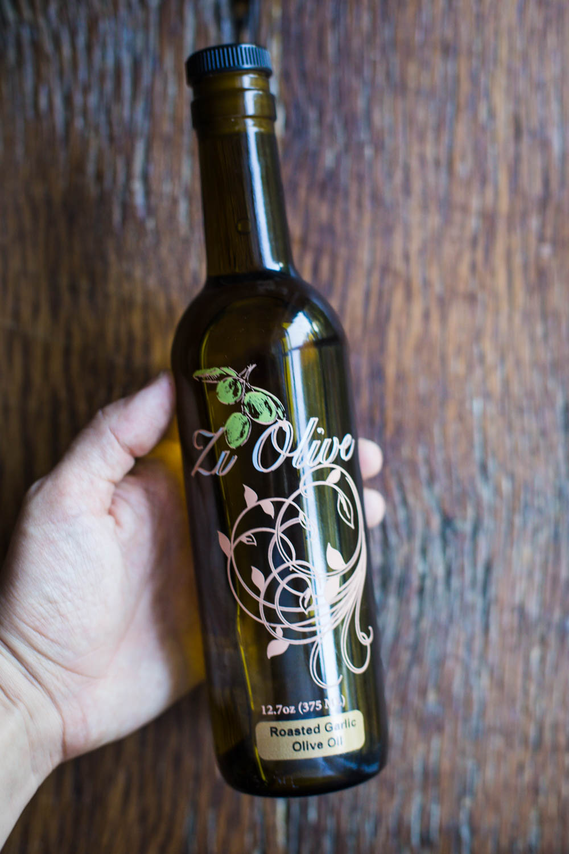 Zi Olive Roasted Garlic Olive Oil- September Favorites!