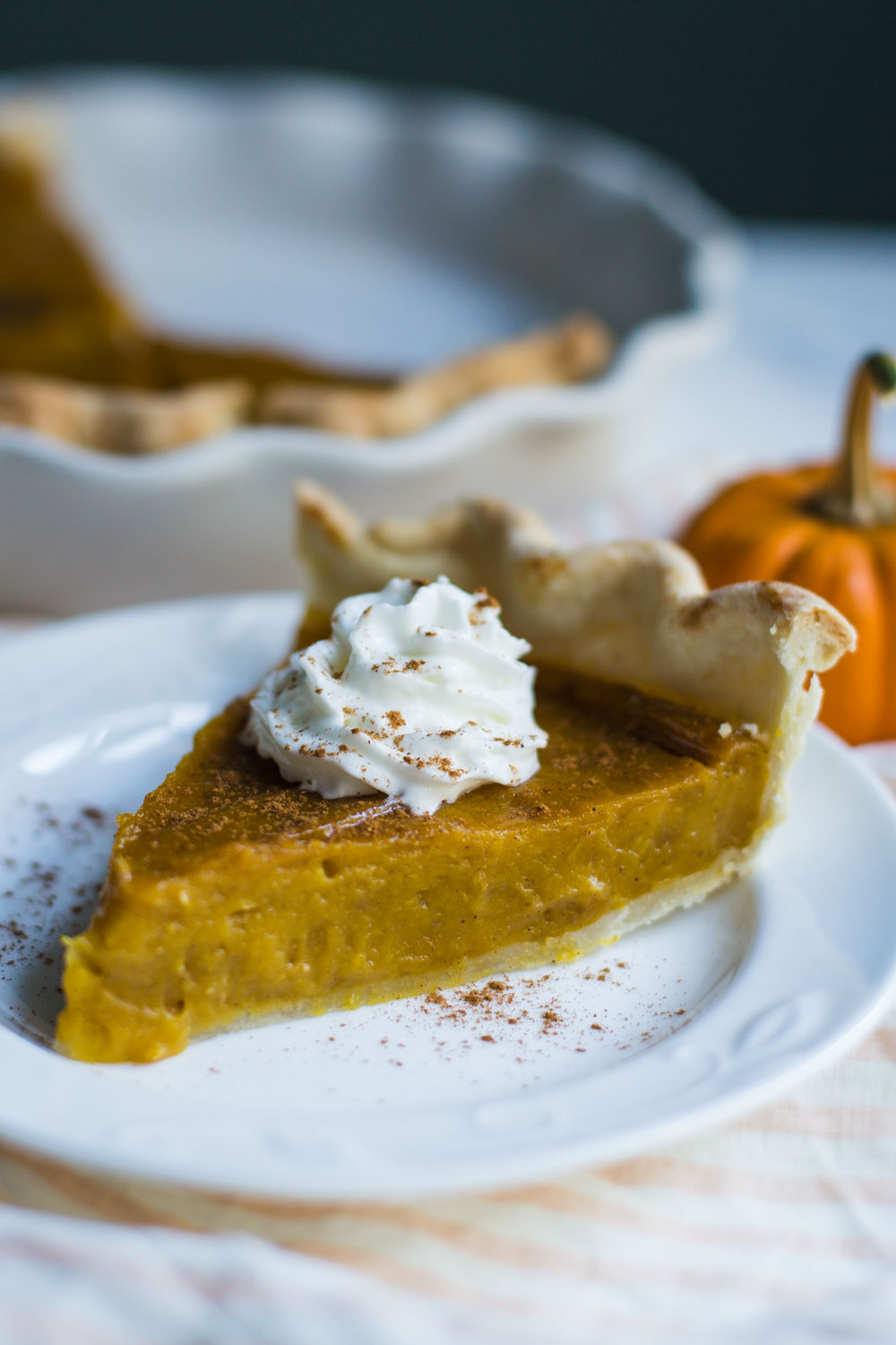 Vegan Pumpkin Pie- this classic pie is very simple to make and SO delicious. Your friends and family will never even know that it is vegan!!
