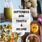 Traffic & Income Report: September 2016