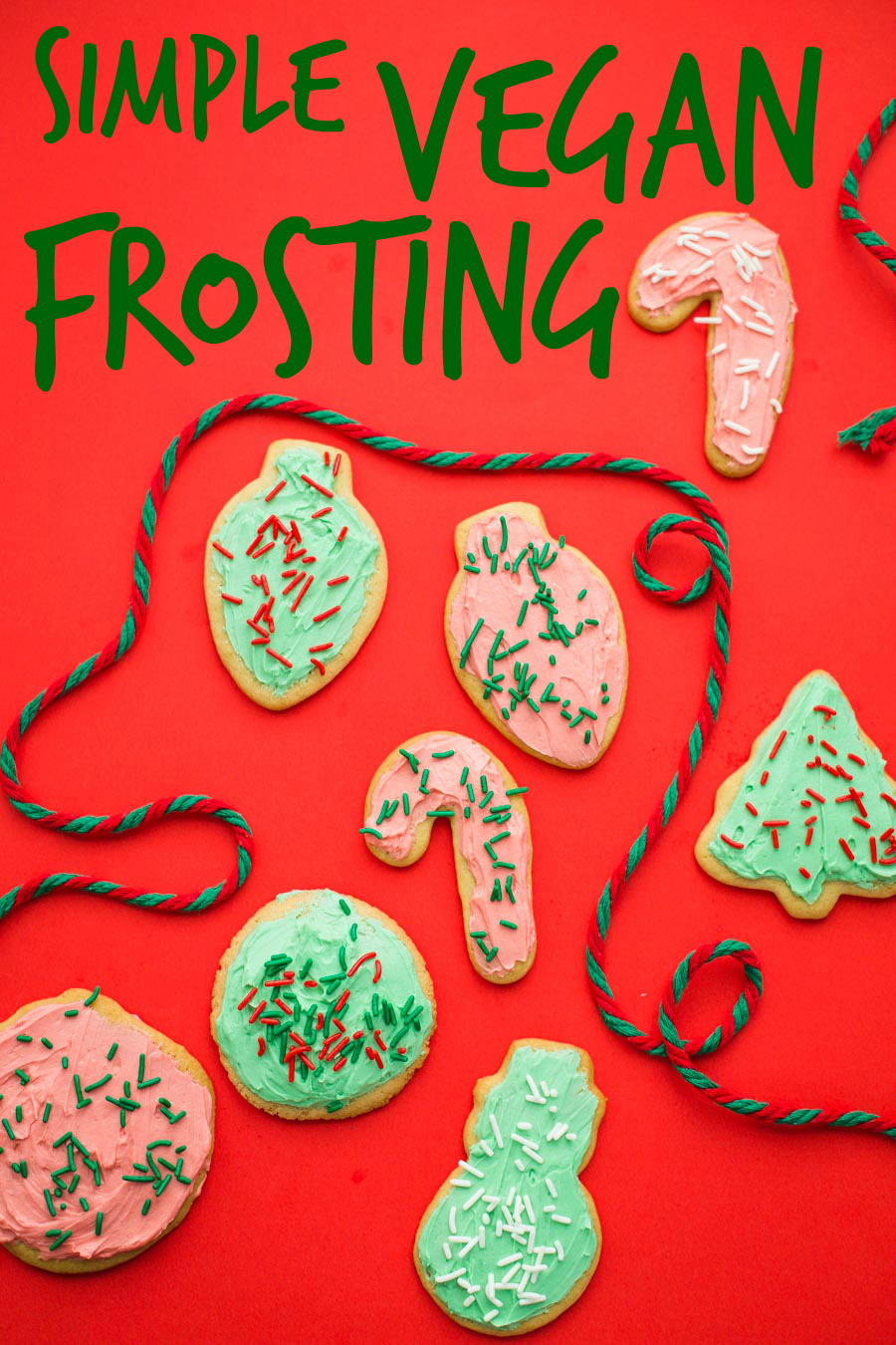 Simple Vegan Frosting for cookies, cakes, and enything else you desire to frost!