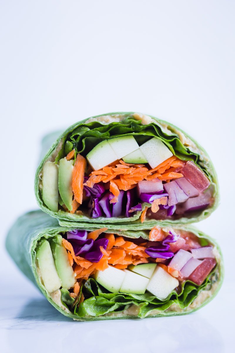 Loaded Veggie Wraps Food With Feeling