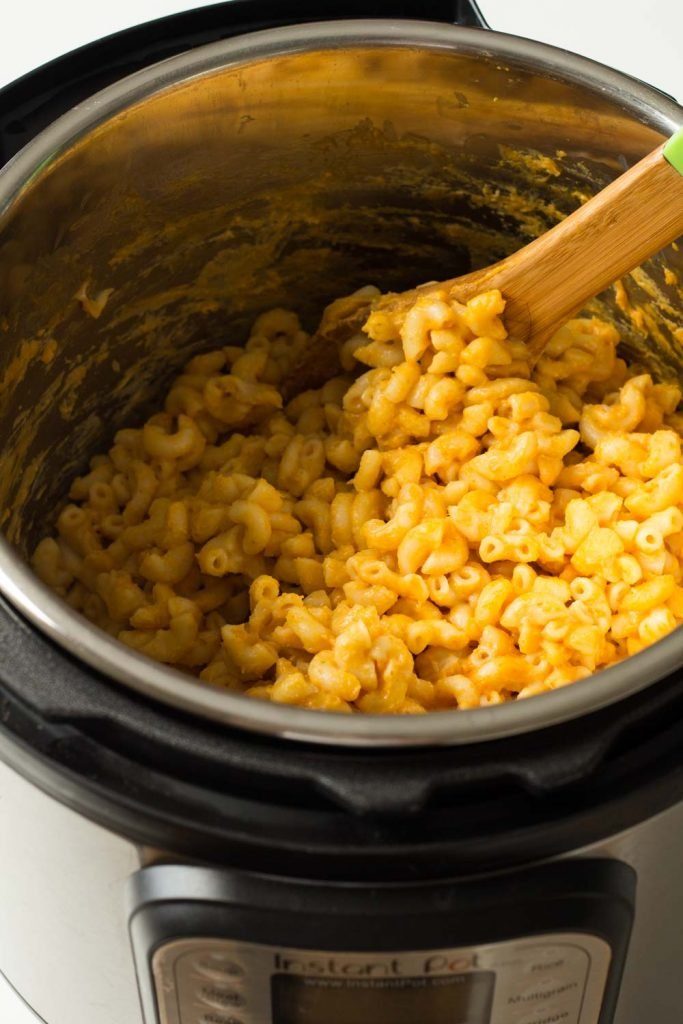 This Instant Pot Mac and Cheese has Pumpkin in it and is wrapped up in the blink of an eye. You'll never make Mac and Cheese in a regular pot ever again.