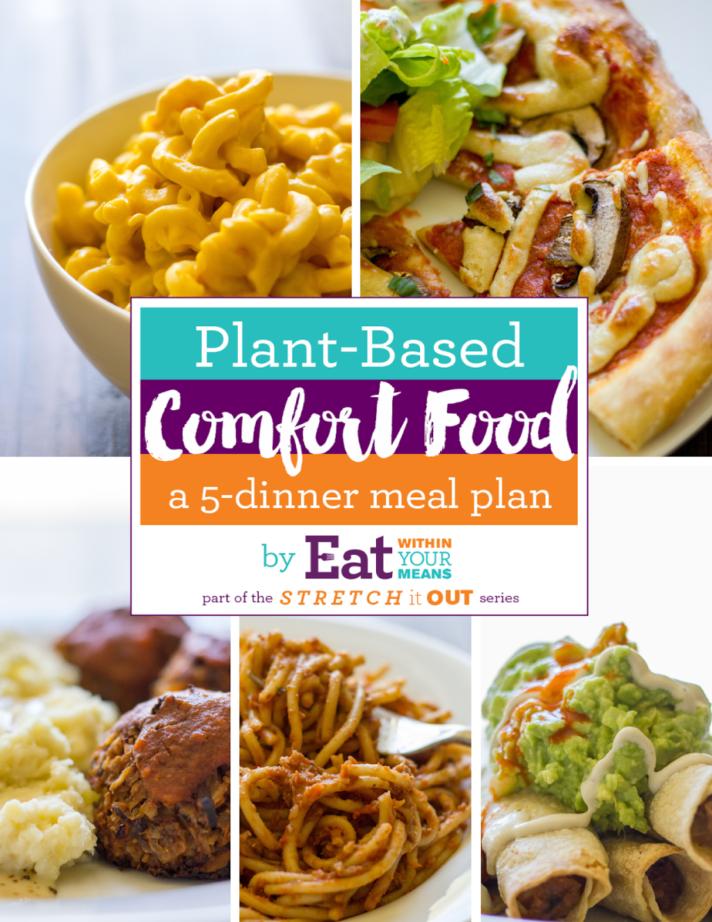 This Plant Based Meal Plan is vegan, easy to put together, delicious, and includes meals that the WHOLE family will love!