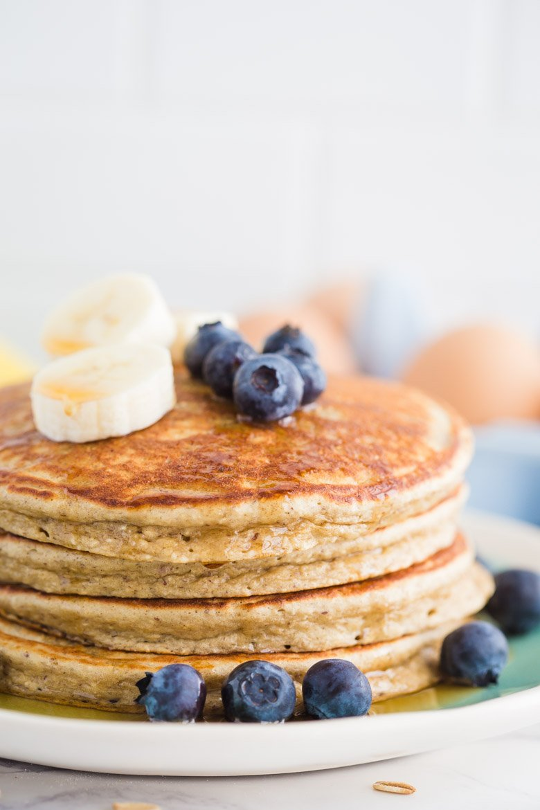 Healthy Protein Pancakes 3 Ways | Food with Feeling