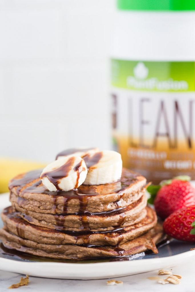Healthy Protein Pancakes 3 Ways- these 3 recipes are easy to throw together, perfect for meal prep, and the perfect light breakfast!